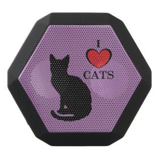 I Love Cats Boombot REX, Black Black Bluetooth Speaker