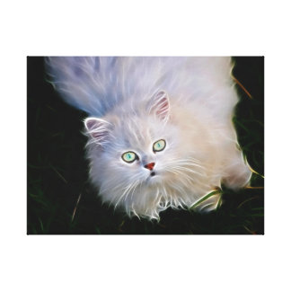 I love cats gallery wrapped canvas