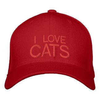 I LOVE CATS CAP by eZaZZleMan
