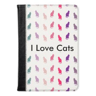 I Love Cats Case at Zazzle