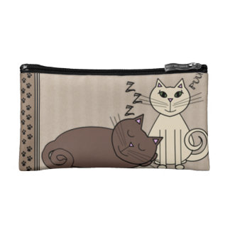 I Love Cats!!! Cosmetic Bag