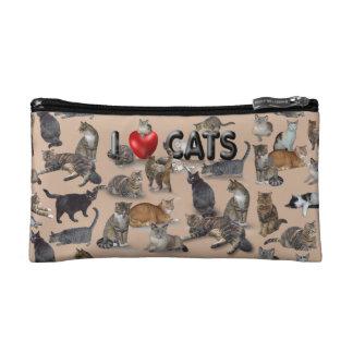 I love Cats Cosmetic Bag