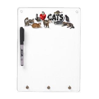I love Cats Dry Erase Board