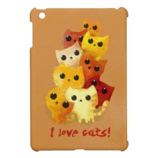 I love Cats Case For The iPad Mini