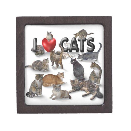 I love Cats Jewelry Box