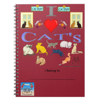 I Love Cat's Notebook