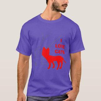 I Love Cats T-Shirt