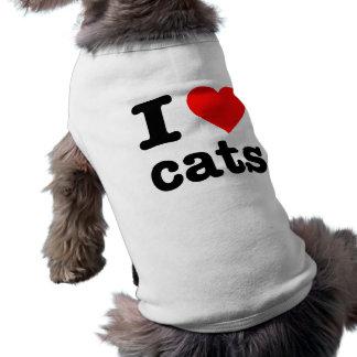 """I LOVE CATS"" T-Shirt"