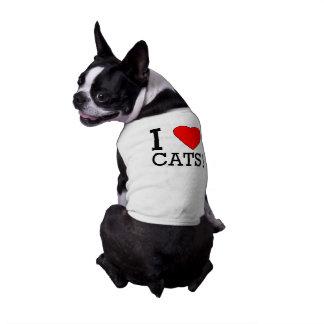 I love cats! tee