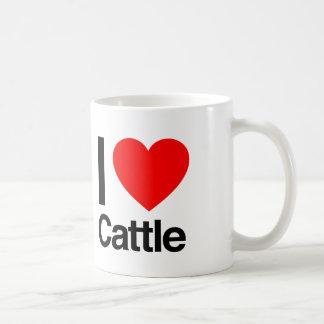 i love cattle coffee mug