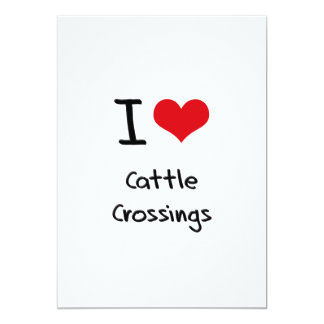 I love Cattle Crossings Personalized Invites