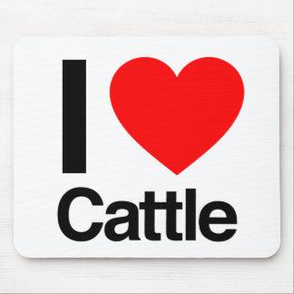 i love cattle mousepads