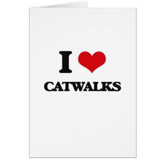 I love Catwalks Cards
