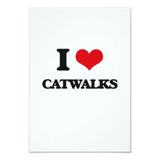 I love Catwalks Custom Announcement