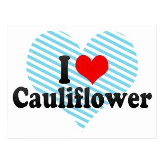 I Love Cauliflower Postcard