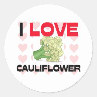 I Love Cauliflower Sticker