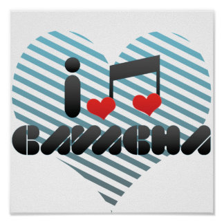 I Love Cavacha Poster