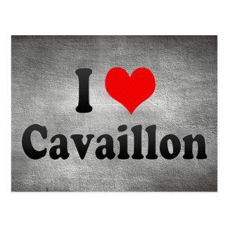 I Love Cavaillon, France Postcard