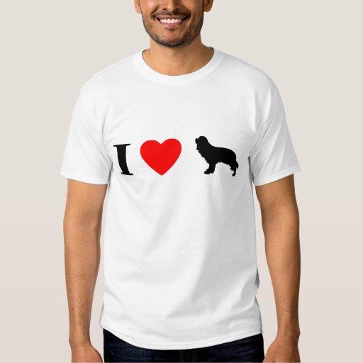 I Love Cavalier King Charles Spaniels T-Shirt