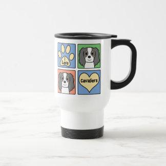 I Love Cavalier King Charles Spaniels Travel Mug