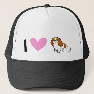 I Love Cavalier King Charles Spaniels Trucker Hat