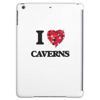 I love Caverns iPad Air Cover