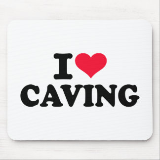 I love Caving Mouse Pad