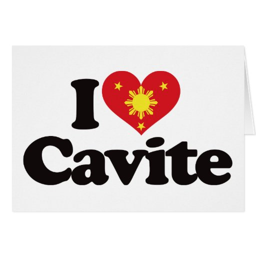 I Love Cavite Card