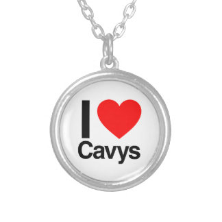 i love cavys personalized necklace