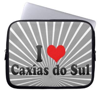 I Love Caxias do Sul, Brazil Laptop Sleeve