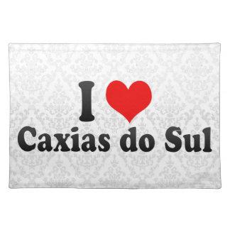 I Love Caxias do Sul, Brazil Place Mats