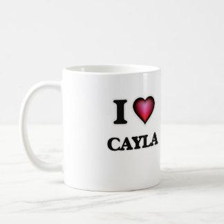 I Love Cayla Coffee Mug