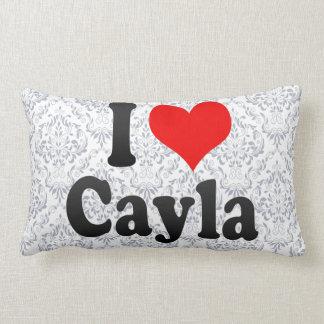 I love Cayla Throw Pillow