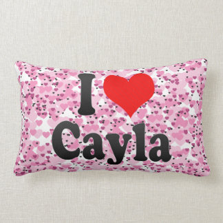 I love Cayla Pillow
