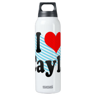 I love Cayla 16 Oz Insulated SIGG Thermos Water Bottle