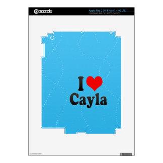 I love Cayla iPad 3 Decals