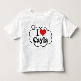I love Cayla Toddler T-shirt