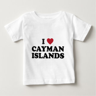 I Love Cayman Islands Baby T-Shirt
