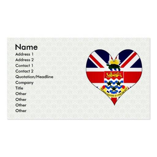 I Love Cayman Islands Business Cards