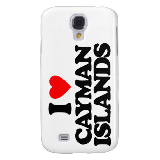 I LOVE CAYMAN ISLANDS SAMSUNG GALAXY S4 CASES