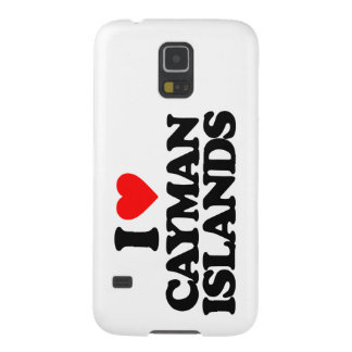 I LOVE CAYMAN ISLANDS GALAXY S5 COVERS
