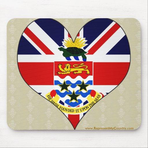 I Love Cayman Islands Mousepad