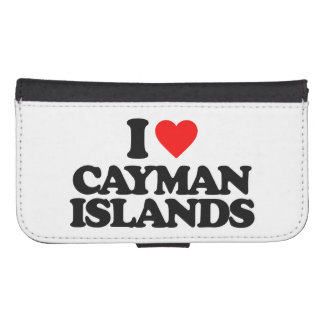 I LOVE CAYMAN ISLANDS GALAXY S4 WALLET