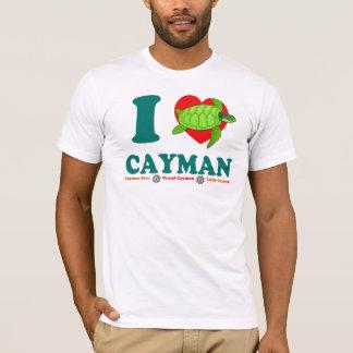 I Love Cayman - Men's Fine Jersey Caribbean T-Shirt
