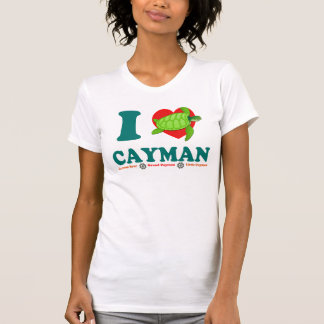 I Love Cayman Unique Women's American Apparel T-Shirt