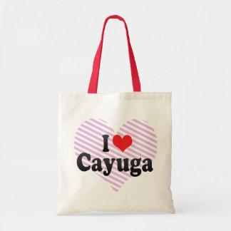I Love Cayuga Tote Bag