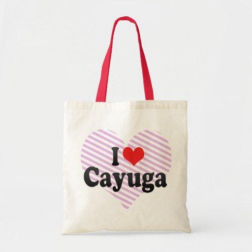 I Love Cayuga Budget Tote Bag