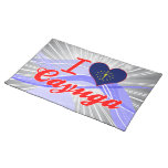 I Love Cayuga, Indiana Placemat