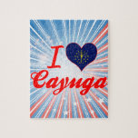 I Love Cayuga, Indiana Puzzles