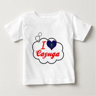 I Love Cayuga, Indiana T Shirts